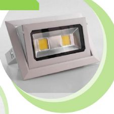 LED Tilt 40W Cob Rectangle Tilt 4000k White
